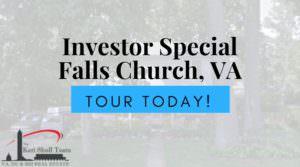 Investor Special in Falls Church, VA!