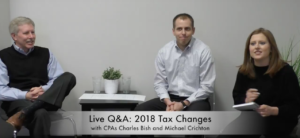 Live Q&A: 2018 Tax Changes for Real Estate
