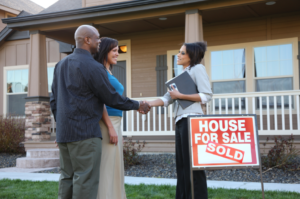 89% of sellers sold their home with a real estate agent